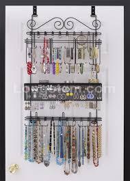 Amazon Organizer Amazon Com Longstem 6100 Overdoor Wall Jewelry Organizer Valet