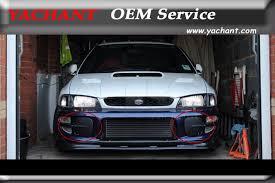 subaru impreza fog lights car styling frp fiber glass front fog l covers fit for 98 01