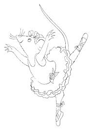 free angelina ballerina coloring pages print 993960