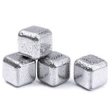 Soapstone Whiskey 4pcs Lot Whiskey Wine Beer Stones Stainless Steel Cooler