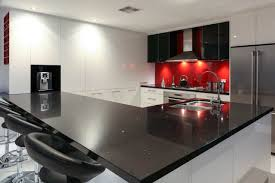 Black And Red Kitchen Ideas Services Farquhar Kitchens