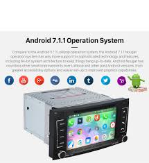 all in one android 7 1 1 2002 2011 vw volkswagen touareg sat nav
