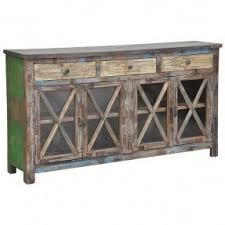 Sideboard Table Reclaimed Wood Sideboard Foter