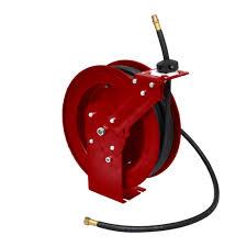 air hose reel retractable 49 u0027 wall mounted vidaxl com