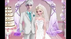 elsa and jack wedding night elsa game movie youtube