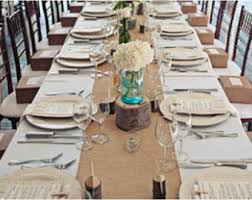 Table Runners For Round Tables 102 X 15 Inch Burlap Table Runners Fit 6ft Round