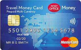 prepaid money cards travel money card prepaid currency card post office