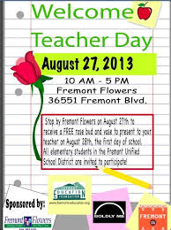 fremont flowers fremont flowers welcome day brookvale pta