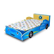 Blue Car Bed Juvenile Furniture U2013 Preschool Of America Store
