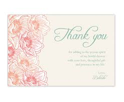 wedding shower thank you gifts wedding shower thank you cards lilbibby