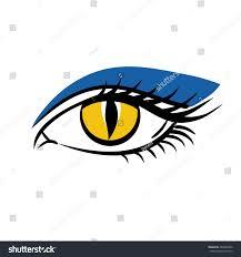 eye on white background eyes art stock vector 483890302 shutterstock