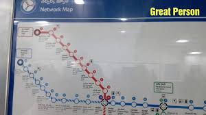 Metrorail Map Hyderabad Metro Train Route Map Video Metro Rail Route Map Video