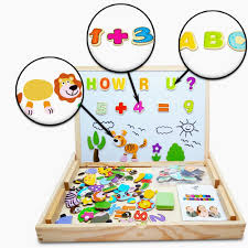 amazon com educational toy xl wood magnetic letters numbers