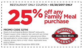boston market 25 any family meal 5 29 17 only