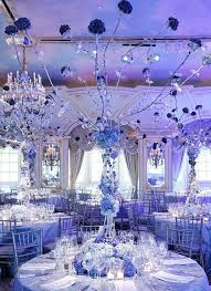 blue centerpieces shades of blue wedding centerpiece ideas crazyforus