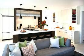 cuisine ouverte sur salon deco salon et cuisine ouverte cuisine ouverte sur salon une solution