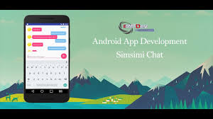 chat android android studio tutorial simsimi chat app