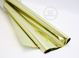 mylar gift wrap gold metallic mylar 30x18 inch 10 sheets mylar gold mylar