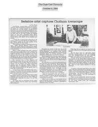 the cape cod chronicle october 4 1984 leonard weber