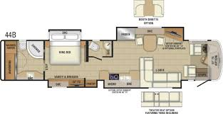 Micro Floor Plans by 2018 Insignia Luxury Class A Mortorhome Entegra Coach