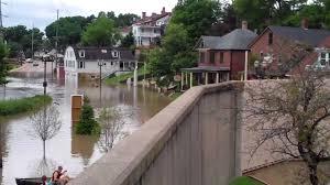 Galena Illinois Galena Flood 2 July 2010 Youtube