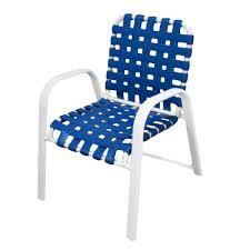 Aluminum Outdoor Chairs Martha Stewart Living Blue Hill Blue Aluminum Outdoor Dining