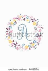 Create Monogram Initials Monogram Initials Stock Images Royalty Free Images U0026 Vectors