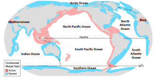 Map Of Continents And Oceans Scientists Develop Model To Map Continental Margins