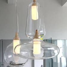 clear glass pendant lights for kitchen island marvellous clear glass pendants lighting for house design