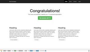 tutorial web dengan yii create your own yii 2 powered blog