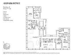 432 park avenue floor plans new york usa apartment building