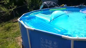 Intex Pools 18x52 Intex Multicolor Led Pool Sprayer Fountain Daytime View Specs