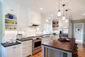 White Cabinets Granite Countertops Kitchen Kitchen Appealing Kitchen Backsplash Pictures With White Cabinets