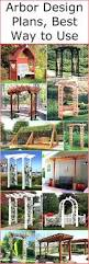 arbor design plans best way to use pergola gazebos