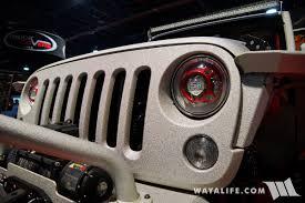 rhino jeep wrangler 2017 2017 sema rhino lining jeep jk wrangler unlimited