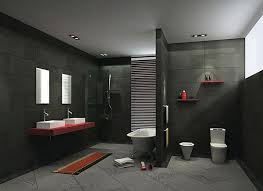 Grey Modern Bathroom Grey Bathroom Tiles Are Favorite For Modern Bathrooms Best Home