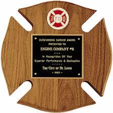 retirement plaque firefighter retirement plaques