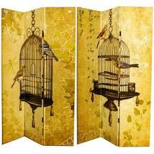 yellow room dividers you u0027ll love wayfair
