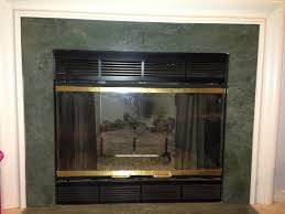 image of perfect gas fireplace doors