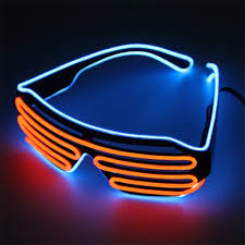 party sunglasses with lights neon party el glasses el wire neon led sunglasses light up glasses