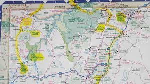 Utah National Park Map by On Our Way To Arches National Park September To Wander Freely