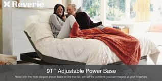 reverie 9t adjustable bed sleeping organic