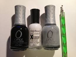 the made up maiden winter nail art tutorial the winter smoke