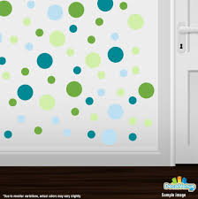 lime green baby blue turquoise baby green polka dot circles lime green baby blue turquoise baby green circle polka dots decal stickers