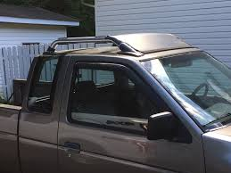 nissan frontier king cab roof rack how to gen1 frontier rack to hardbody infamous nissan