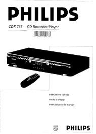 philips cd player cdr 765 pdf user u0027s manual free download u0026 preview