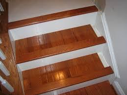 vinyl plank stair treads wood u2014 john robinson house decor