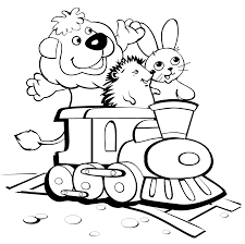 trains and animals trains coloring pages pinterest easter