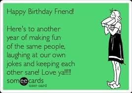Friends Birthday Meme - happy birthday bestie meme memeshappy com