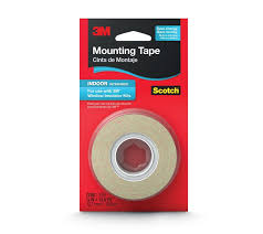 Shop Amazon Com Window Double by 3m Indoor Window Film Mounting Tape 5 Inch X 13 8 Yard Clear 1